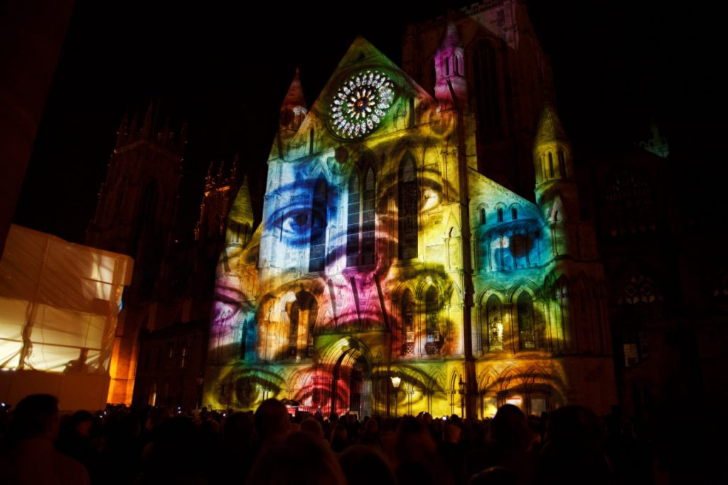 digital EDGE media + 3D Projector Mapping Audiovisual Experiences